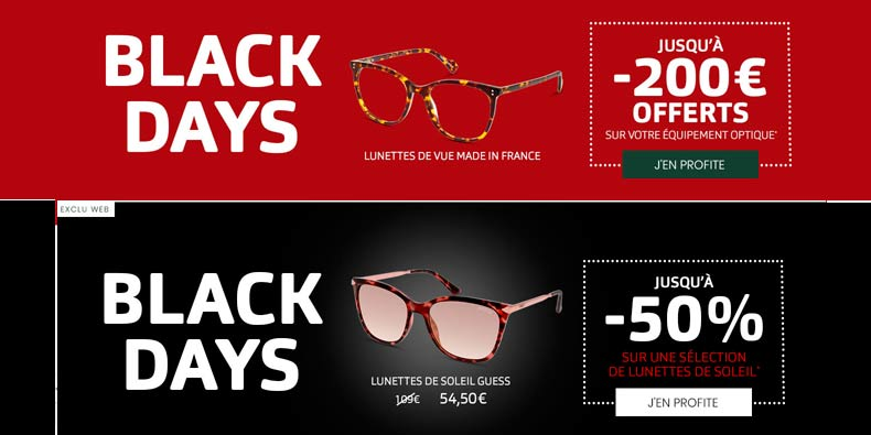 -50% sur des lunettes de soleil chez General d'Optique !