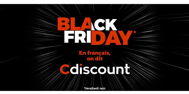 CDiscount a lancé son Black Friday à 18H et voici ses meilleures offres pour le moment :