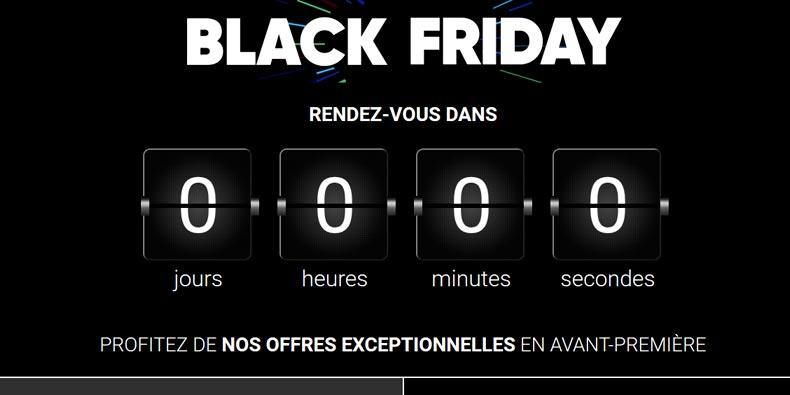 La FNAC vient de lancer son Black Friday