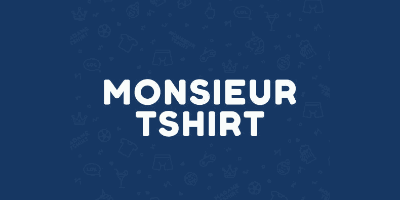 Black Friday Monsieur Tshirt