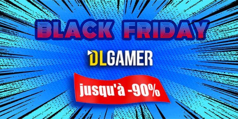 Jusqu'à -90% sur les jeux PC chez DLGamer du 28/11 au 02/12/2019