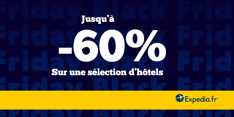 -10% supplémentaires chez Expédia !