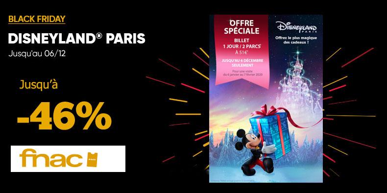 -46% sur  votre billet pour Disneyland Paris!