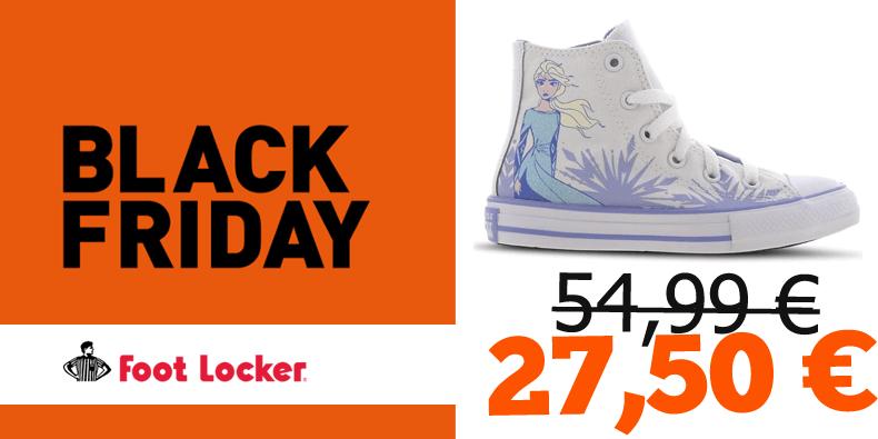 27,50€ au lieu de 54,99€ les Converses enfants Disney !