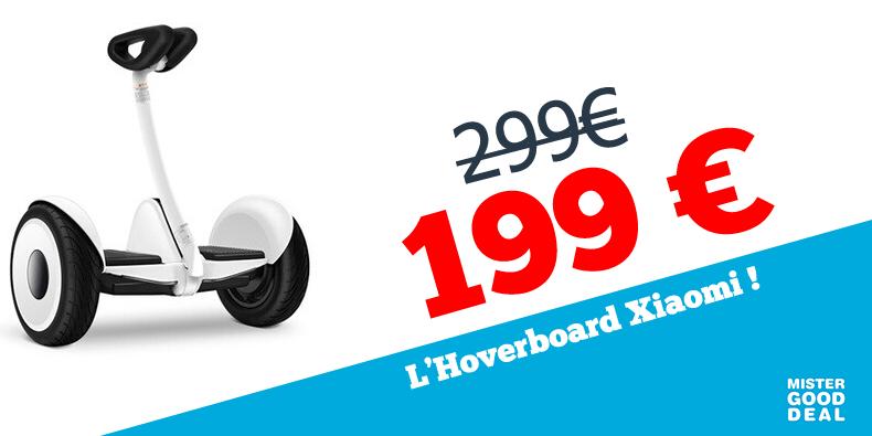 -100 € sur l'hoverboard Xiaomi !