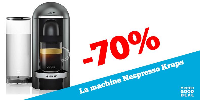 -70% la Machine Nespresso Krups!