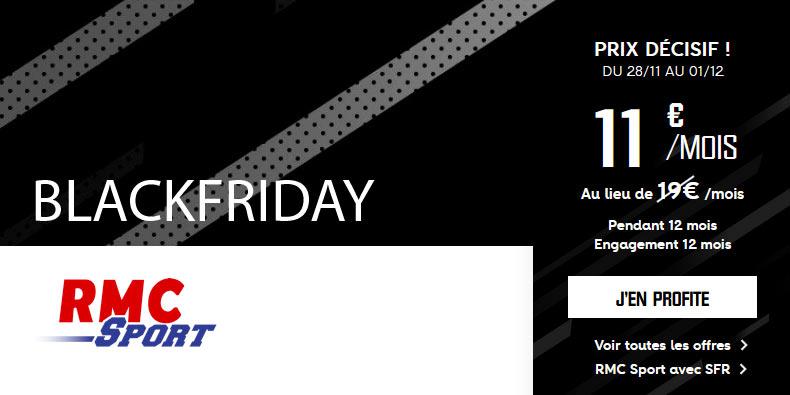 RMC Sport à 11€/mois [PROMO Black Friday]