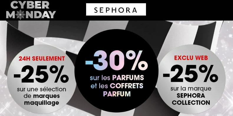 -30% sur les parfums et coffrets chez Sephora!