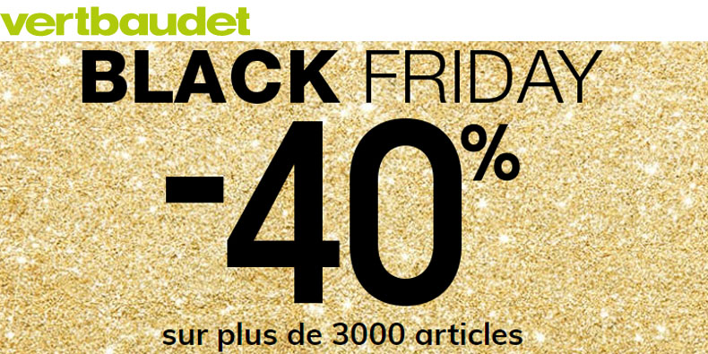-40% chez Vertbaudet!