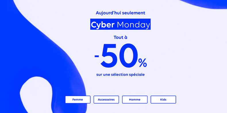 Desigual passe son site à -50% pour le CYBER Monday